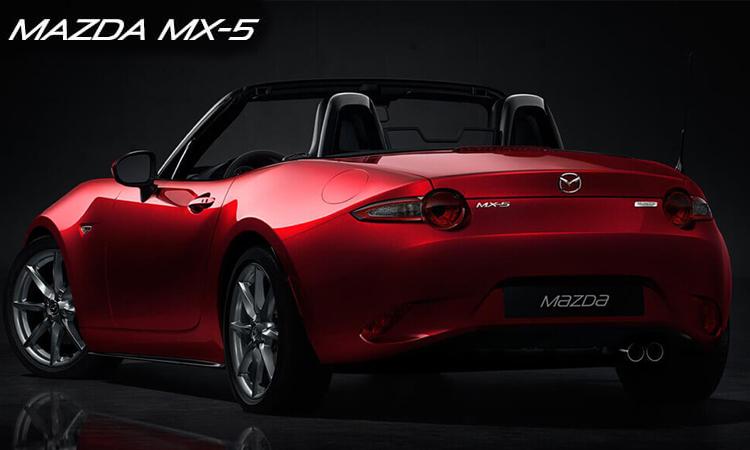 ดีไซน์ด้านหลัง Mazda Mx-5