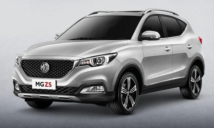 MG ZS SMART 2019สีเงิน SILVER METALLIC