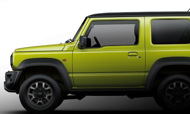ดีไซน์ประตู Suzuki Jimny 2020