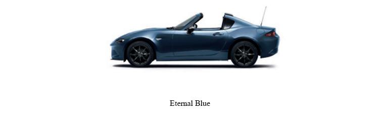 Mazda MX-5 สีฟ้า Eternal Blue