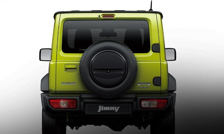 ดีไซน์ด้านหลัง Suzuki Jimny 2020