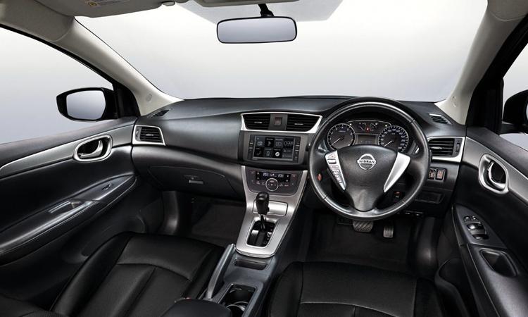 ภายใน Nissan Sylphy