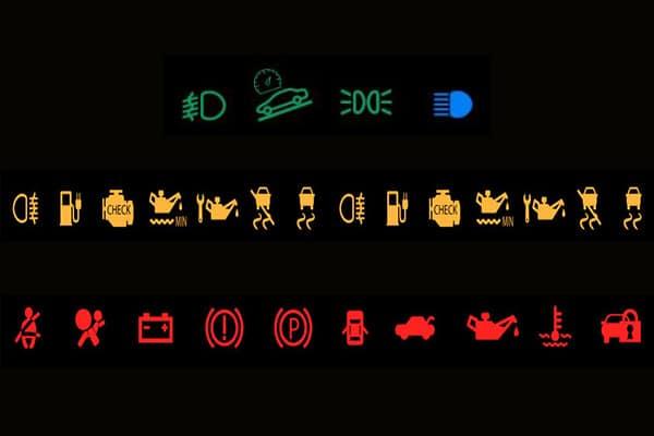 สัญญาณไฟเตือนหน้าปัดรถยนต์ บอกถึงอะไร