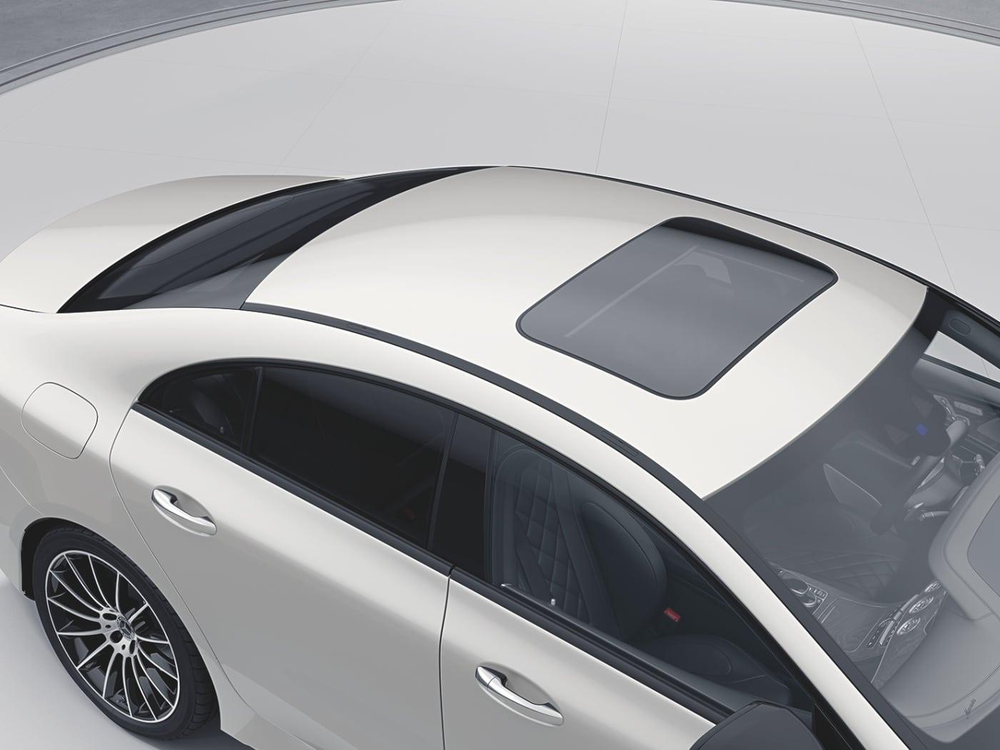 หลังคาซันลูบMercedes-Benz CLS 300 d AMG Premium