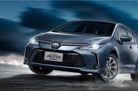 All-new Toyota Corolla Altis ราคา 7.2 แสนบาท