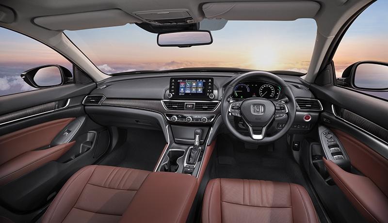 ภายในห้องโดยสารAll-New Honda Accord