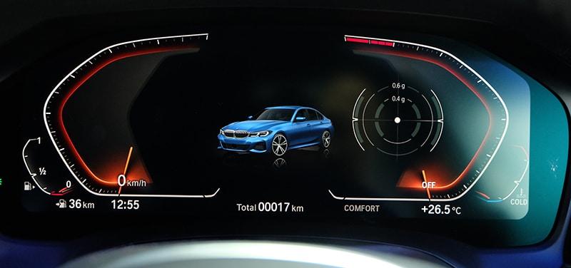 All-new BMW 330i M Sport (G20) 3.359 ล้านบาท ดีไซน์สุดล้ำทันสมัย 3