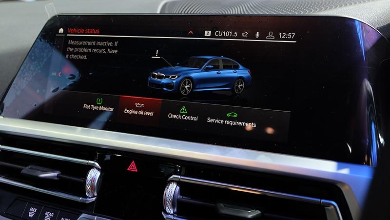 All-new BMW 330i M Sport (G20) 3.359 ล้านบาท ดีไซน์สุดล้ำทันสมัย 25