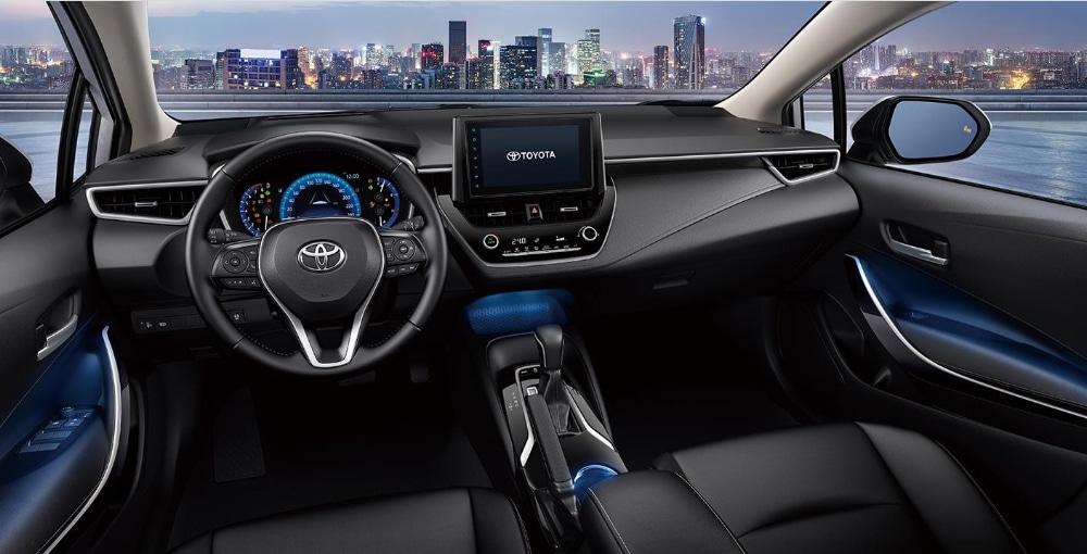 ภายในToyota Corolla Altis 2019