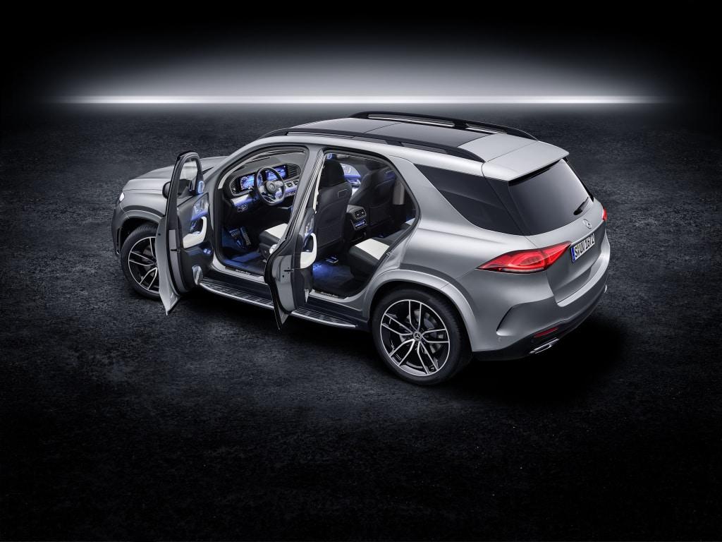 การตกแต่งของ Mercedes-Benz GLE S 2019