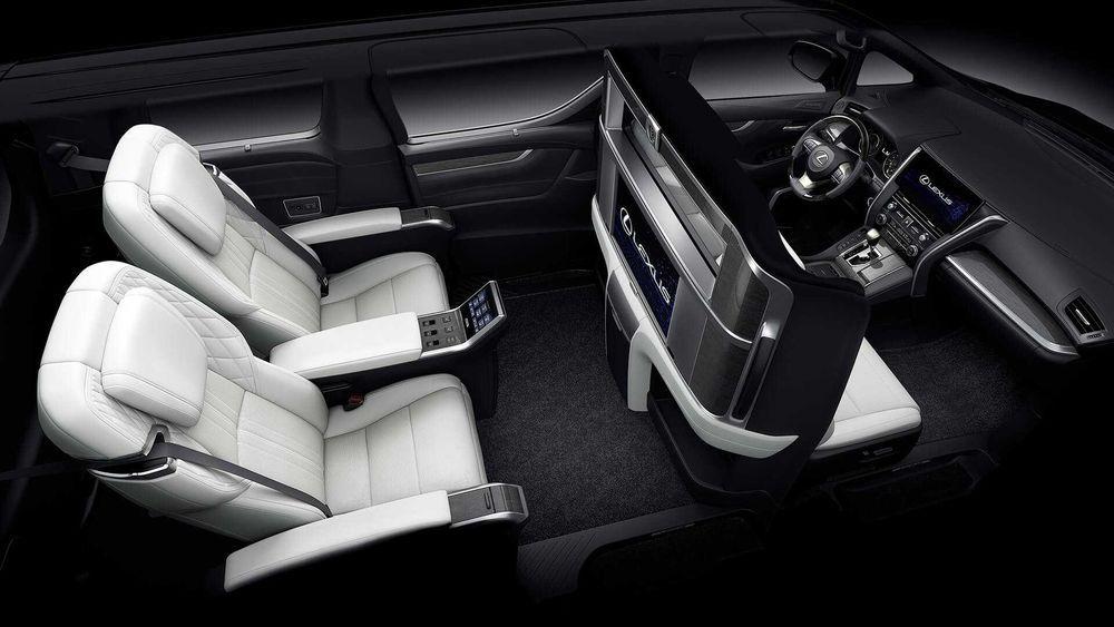 ภายใน Lexus LM
