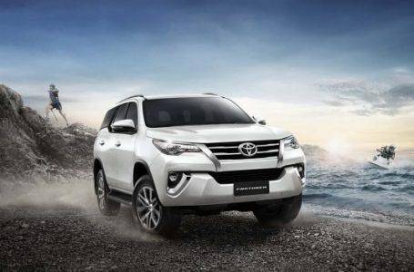 Toyota Fortuner รุ่นปรับปรุงใหม่ 2.4G รถยนต์อเนกประสงค์เกียร์อัตโนมัติ ราคาเริ่ม 1.29 ล้านบาท