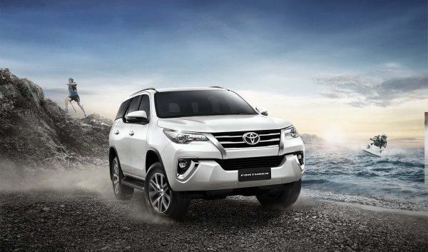 Toyota Fortuner รุ่นปรับปรุงใหม่ 2.4G