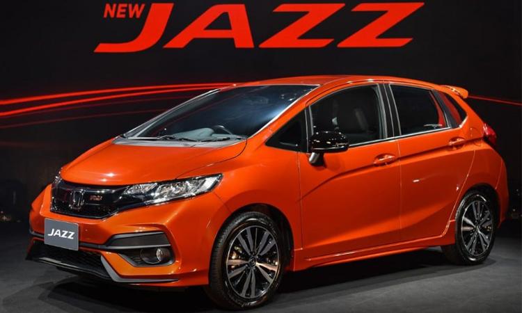 Honda เตรียมเปิดตัว New Honda Jazz ในปลายปี 2019 นี้