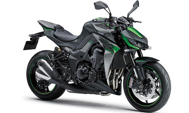 Kawasaki Z1000R สีดำ