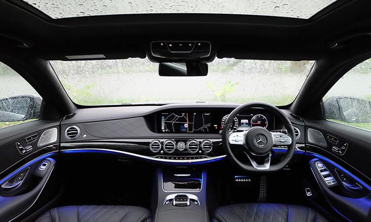ภายใน MercedesBenz S-Class 350d