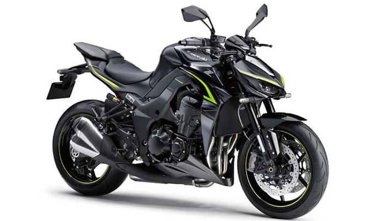 Kawasaki Z1000R สีเทา