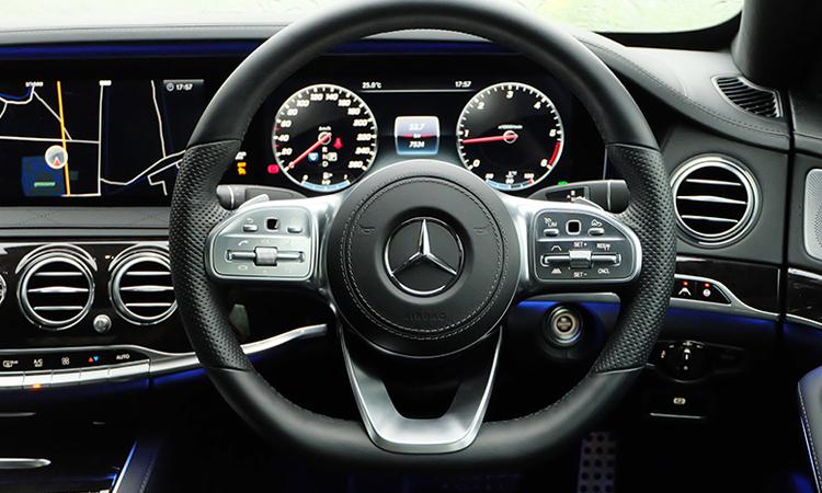 พวงมาลัย MercedesBenz S-Class 350d