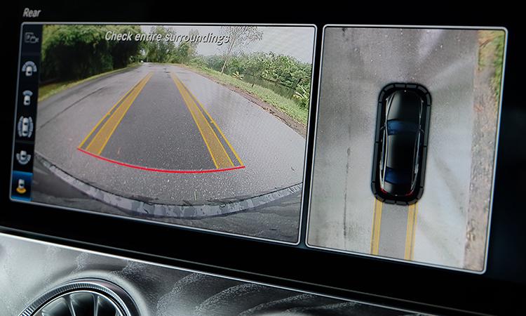 กล้องถแยจอด Benz CLS 300 d AMG Premium