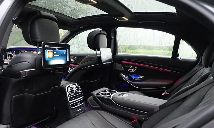 ีไซน์เบาะหลัง MercedesBenz S-Class 350d