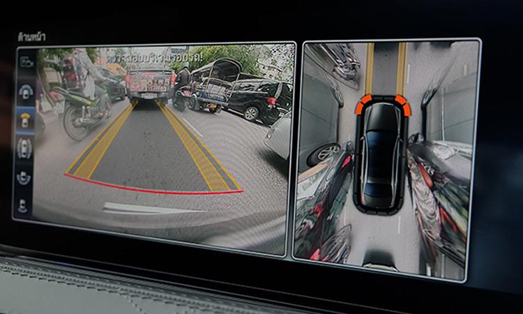 กล้องมองหลัง MercedesBenz S-Class 350d