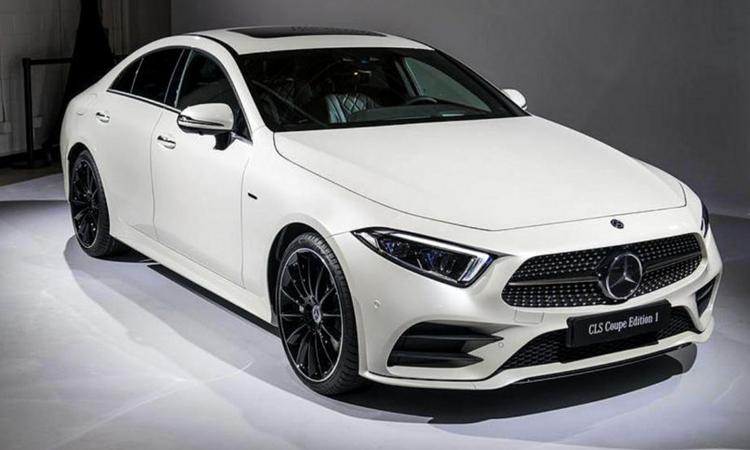 Mercedes-Benz CLS 300 d AMG Premium สีขาว Polar White