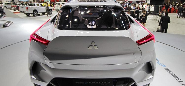 MITSUBISHI มอเตอร์ส ประเทศไทย จัดแสดงยนตรกรรมต้นแบบ Mitsubishi e-Evolution 1