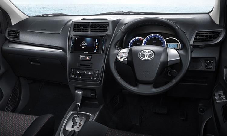 ภายใน Toyota Avanza