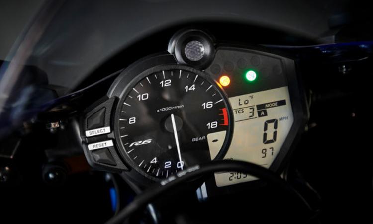 เรือนไมล์ Yamaha YZF-R6