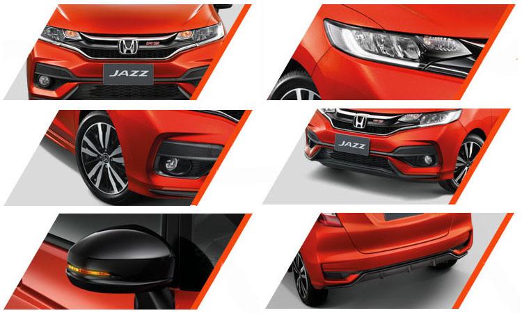 ดีไซน์ภายนอก Honda Jazz 2019-2020