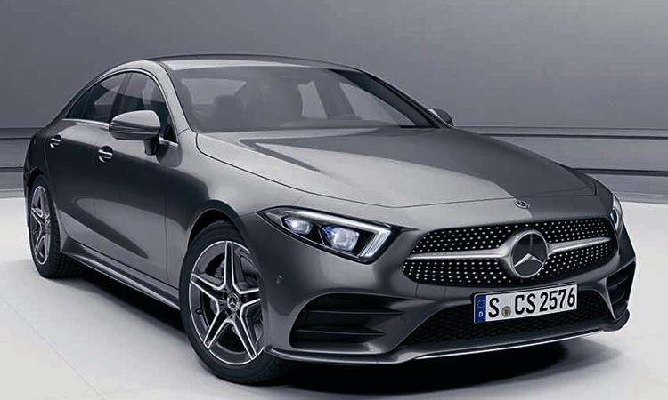 Mercedes-Benz CLS 300 d AMG Premium สีเทา Graphite Grey