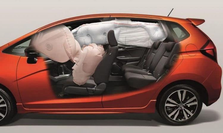 ระบบความปลอดภัย ถุงลมนิรภัย Honda Jazz 2019-2020
