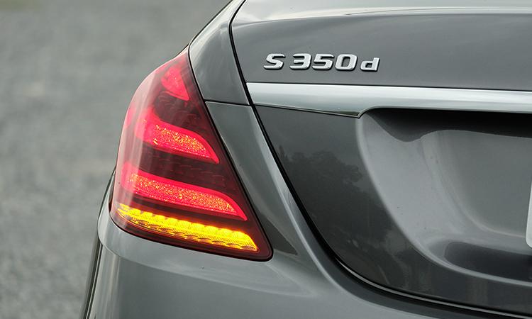 ฟท้าย MercedesBenz S-Class 350d