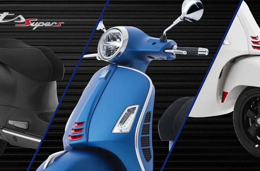Vespa GTs Sport 300 ABS ข้อมูล และราคา