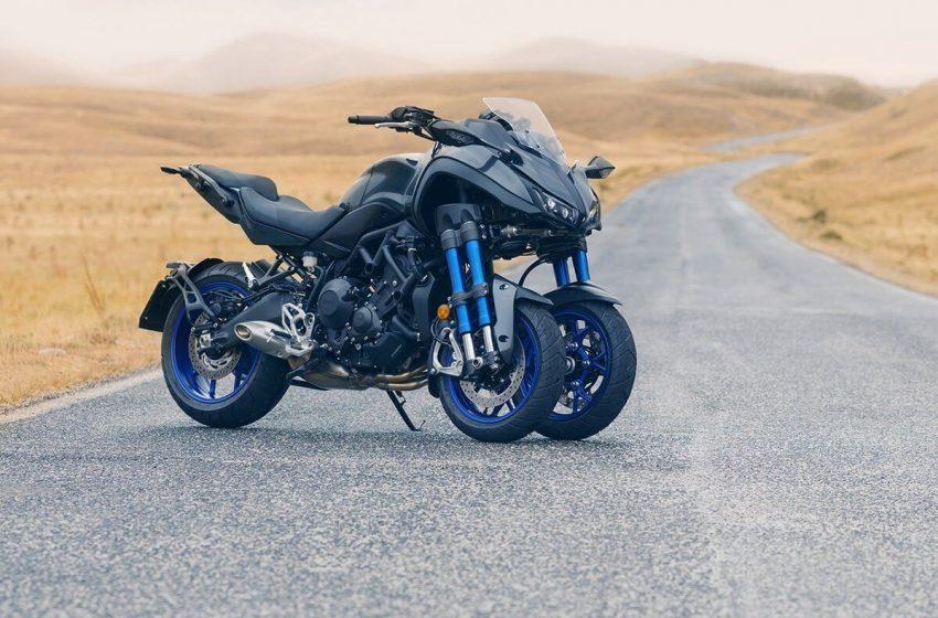 Yamaha เปิดตัวใหม่ 3 ล้อติดเทอร์โบ Yamaha Niken Turbocharge