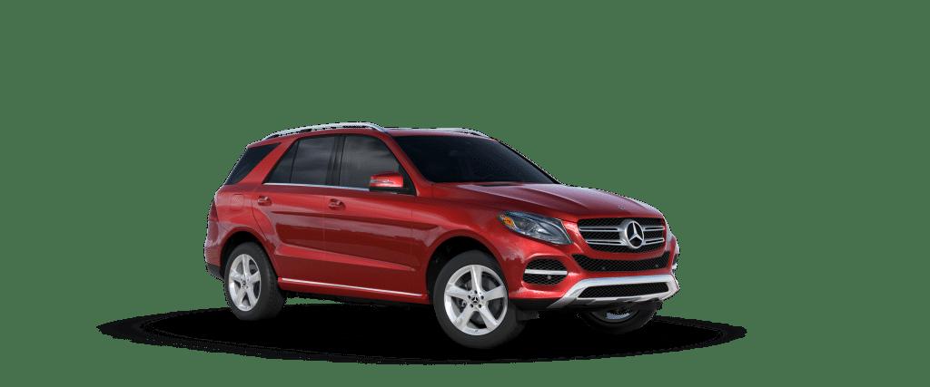 Mercedes-Benz GLE S 2019 สีแดง