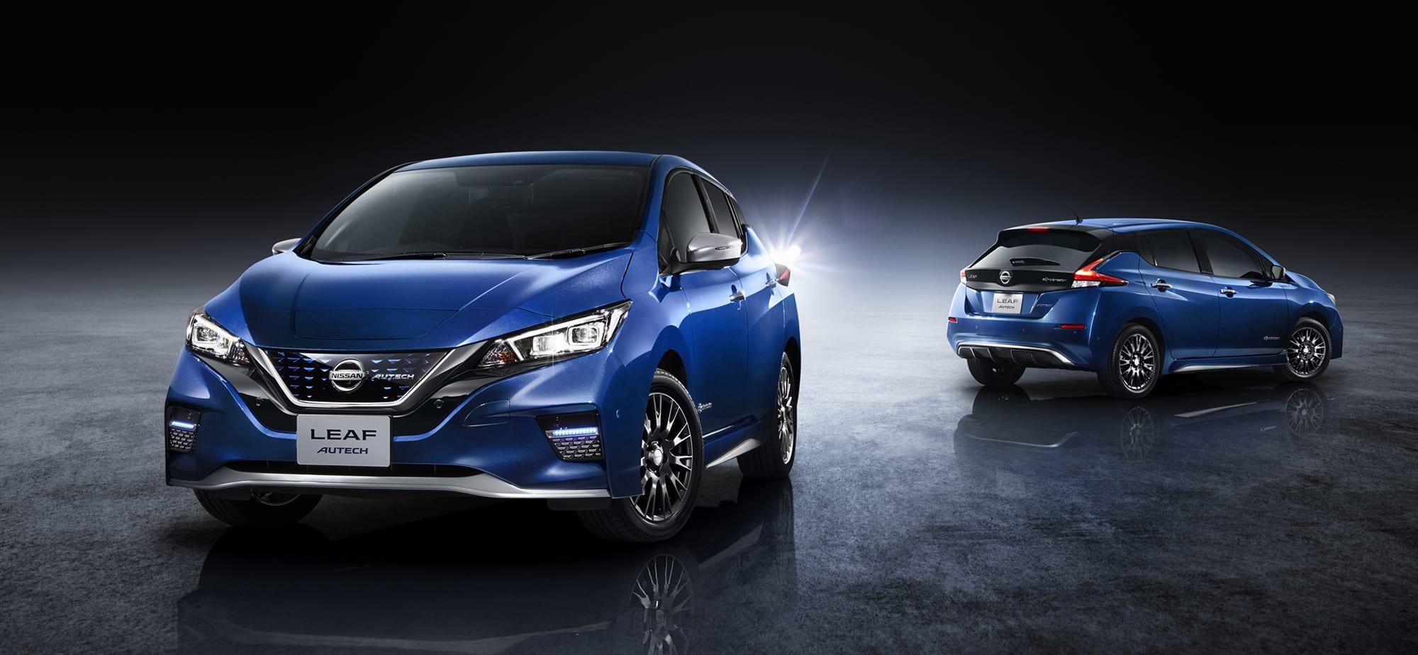 Nissan Leaf Autech กับคอนเซ็ปสวยดุ พร้อมขายแล้วประเทศญี่ปุ่นในเดือนมิถุนายน 1