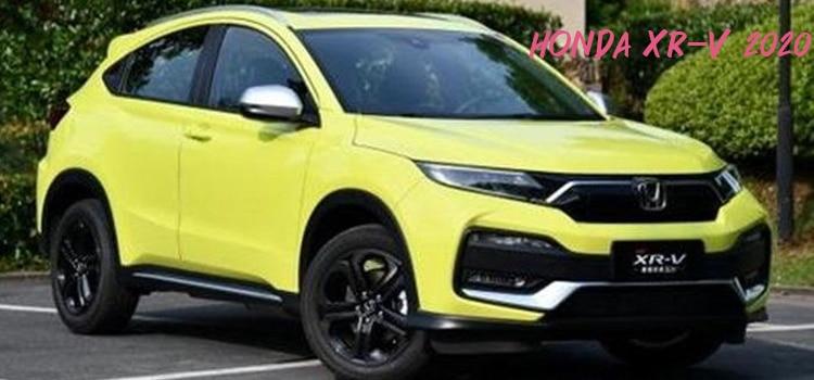 Honda XR-V 2020 ไมเนอร์เชนจ์ใหม่เปิดตัวที่จีน