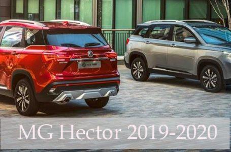 MG Hector 2019 ใหม่ เปิดตัวที่ประเทศอินเดียสินเดือนมิถุนายนนี้