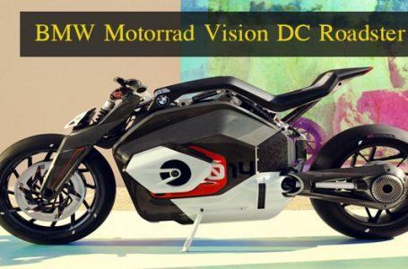 BMW Motorrad Vision DC Roadster เท่รักษ์โลกด้วยจักรยานยนต์ไฟฟ้า