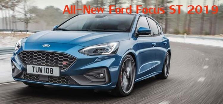 All-New Ford Focus ST 2019 เครื่องยนต์ 2.0 1