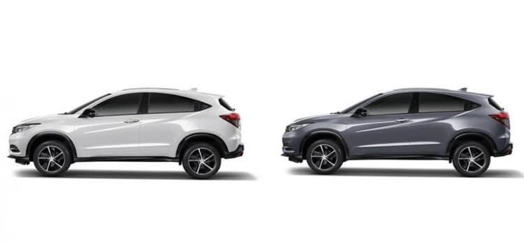 สีใหม่ Honda HR-V