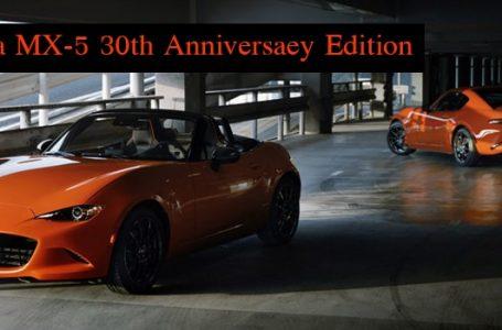 Mazda MX-5 30th Anniversaey Edition จำหน่ายในไทยเพียง 12 คัน ราคา 3.1 ล้านบาท