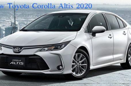 All-New Toyota Altis 2019-2020 โฉมใหม่ เตรียมเข้าไทยปลายสิงหาคม นี้