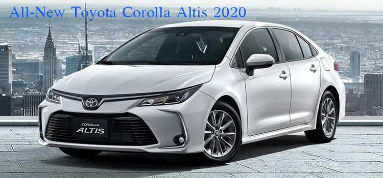 All-New Toyota Altis 2019-2020 โฉมใหม่ เตรียมเข้าไทยปลายสิงหาคม นี้ 1