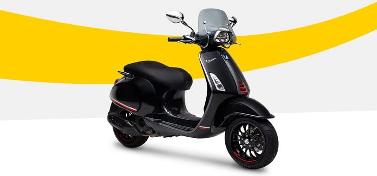 Vespa Sprint i-Get ABS Carbon Edition ราคา 136,900 บาท