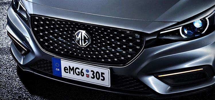 กระจังหน้า MG 6 50T PHEV 2019 ใหม่