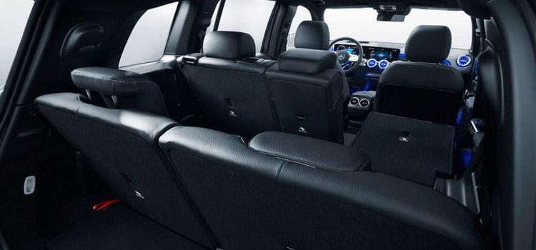 เบาะผู้โดยสารหลังMercedes Benz GLB SUV
