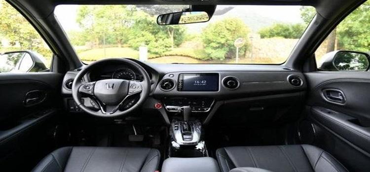 ภายในห้องโดยสาร Honda XR-V 2020