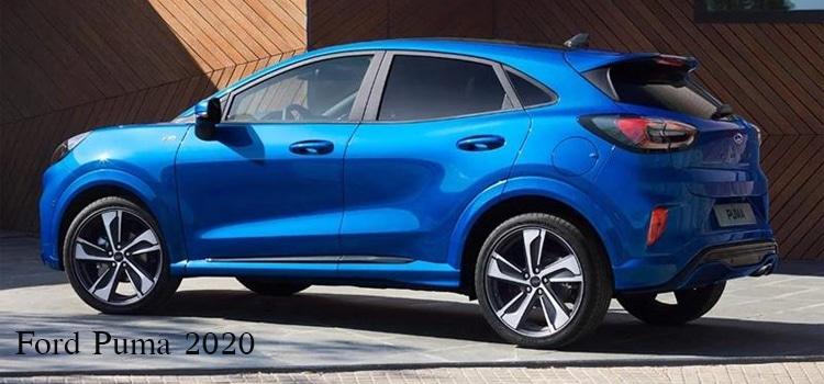 รอบตัวถัง Ford Puma 2020